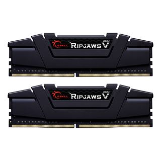 64GB G.Skill RipJaws V schwarz DDR4-2666 DIMM CL18 Dual Kit