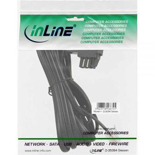 (€0,65*/1m) 6.00m InLine TAE-N Verbindungskabel gebrückt