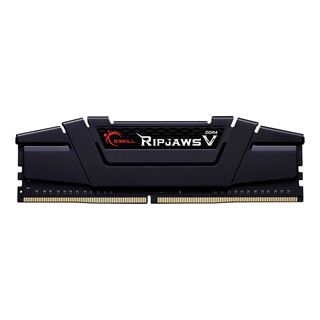 16GB G.Skill RipJaws V schwarz, DDR4-3600 DIMM, CL18, Dual-Kit