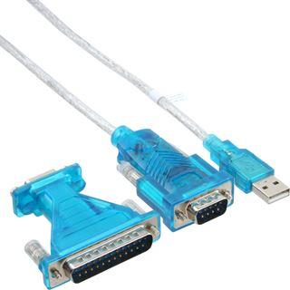 (€6,61*/1m) 1.80m InLine Seriell Verlängerungskabel USB A