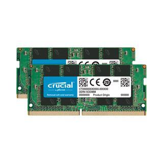 8GB Crucial DDR4-2666 SODIMM, CL19, Dual-Kit (2x4GB),Single Ranked,