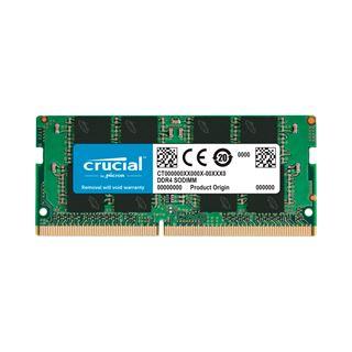 4GB Crucial DDR4-2666 SODIMM, CL19, Single, (CT4G4SFS6266)
