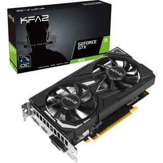 4GB KFA2 GTX1650 EX PLUS OC GDDR6 HDMI DP DVI