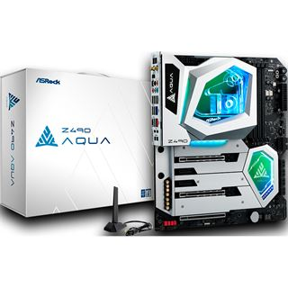 ASRock Z490 AQUA Mainboard inkl. Wasserkühler (Retail)