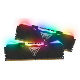 16GB Patriot Viper RGB schwarz DDR4-3600 DIMM CL18 Dual Kit