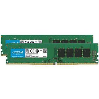 32GB (2x 32768MB) Crucial DDR4-2666MHz DIMM, CL19, Dual-Kit