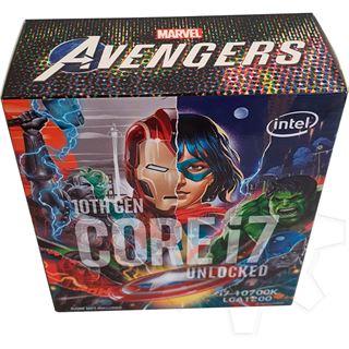 Intel Core i7 10700K Avengers Edition 8x 3.80GHz So.1200 WOF