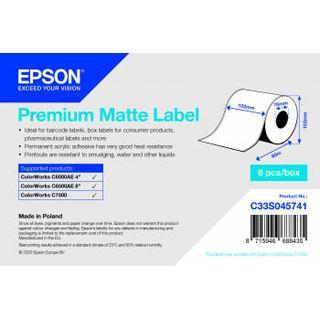 Epson PREMIUM MATTE LABEL CONTINUOUS C33S045741