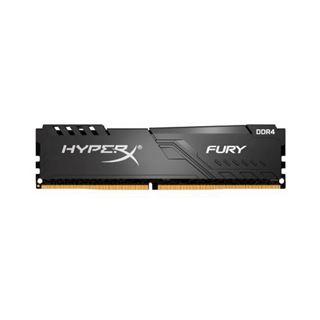 64GB HyperX Fury schwarz, DDR4-2666 DIMM, CL16, Quad-Kit (4x16GB),