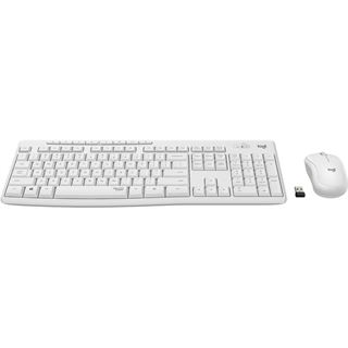 Logitech MK295 Silent Wireless Combo weiss, USB, HU Layout