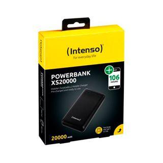 20.000mAh Intenso Powerbank Small XS20000 schwarz