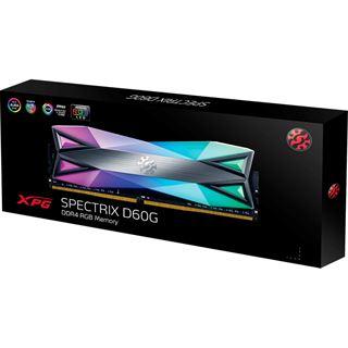 32GB ADATA XPG Spectrix DG60G, DDR4-3200 DIMM, CL16, Dual-Kit