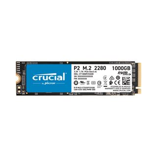 1000GB Crucial P2 M.2 PCIe 3.0 x4 (CT1000P2SSD8)