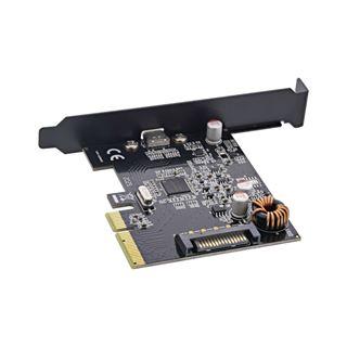 InLine Schnittstellenkarte, PCIe x4, USB 3.2 Gen.2x2, 1x USB Typ-C,