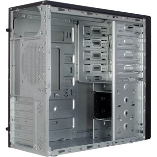 Inter-Tech IT-8816 Pollux Midi Tower, ohne Sichtfenster, ohne