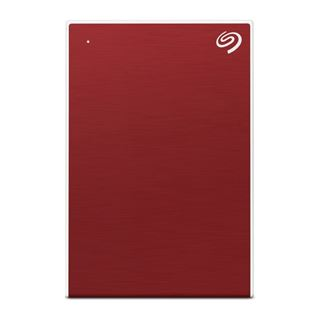 5000GB Seagate One Touch Portable HDD Red +Rescue USB 3.0 Micro-B