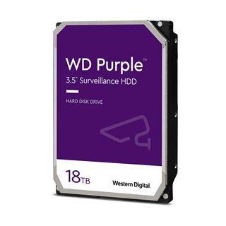 """18000GB WD Purple WD180PURZ 7.200U/min 512MB 3.5"""" (8.9cm) SATA"""