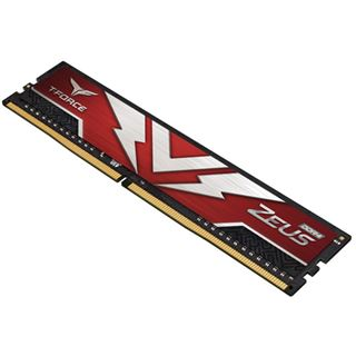 16GB TeamGroup T-Force Zeus DDR4-3000 DIMM, CL16, Dual-Kit (2x8GB)