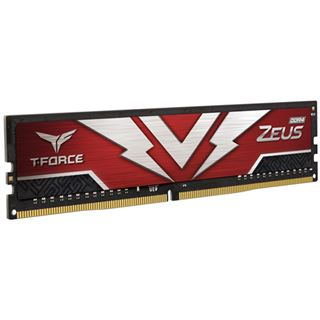 32GB TeamGroup T-Force Zeus DDR4-3200 DIMM, CL16, Dual-Kit (2x16GB)