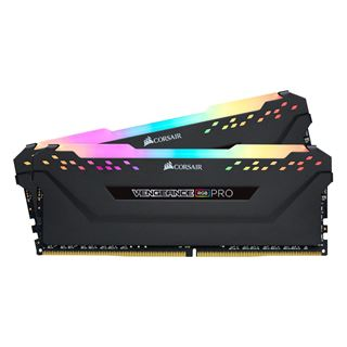 32GB Corsair Vengeance RGB PRO schwarz DDR4-3200 DIMM CL16 Dual Kit