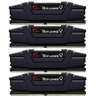 64GB G.Skill RipJaws V schwarz DDR4-3600 DIMM CL14 Quad Kit