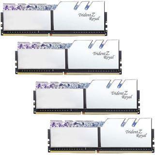 64GB G.Skill Trident Z Royal silber DDR4-3600 DIMM CL14 Quad Kit