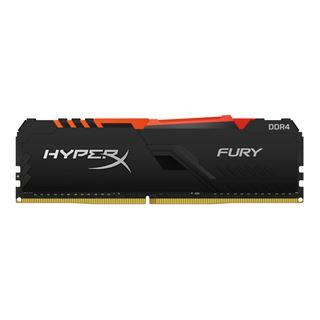 64GB HyperX FURY RGB DDR4-2400 DIMM CL15 Quad Kit