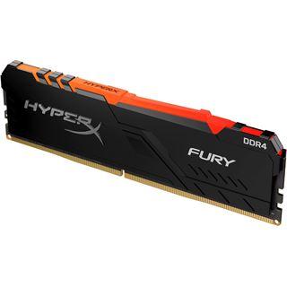 16GB HyperX FURY RGB DDR4-2400 DIMM CL15 Single