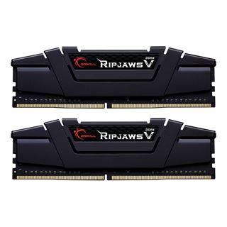 16GB G.Skill RipJaws V schwarz DDR4-4000 DIMM CL17 Dual Kit