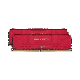 32GB Crucial Ballistix rot DDR4-2666 DIMM CL16 Dual Kit