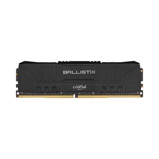 16GB Crucial Ballistix schwarz, DDR4-3200 DIMM, CL16, Single