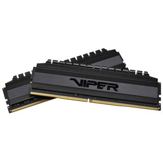 32GB Patriot Viper 4 Blackout DDR4-3000 DIMM CL16 Dual Kit