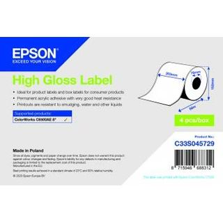 Epson HIGH GLOSS LABEL CONTINUOUS (C33S045729)
