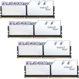 128GB G.Skill Trident Z Royal silber DDR4-3200 DIMM CL14 Quad Kit