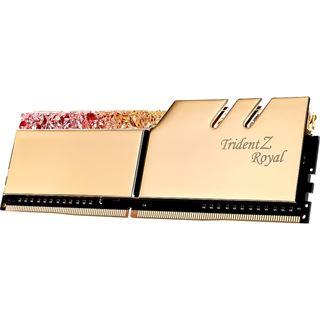 256GB G.Skill Trident Z Royal gold DDR4-3200 DIMM CL14 Octa Kit