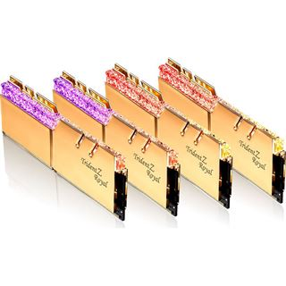 64GB G.Skill Trident Z Royal gold DDR4-3600 DIMM CL14 Quad Kit