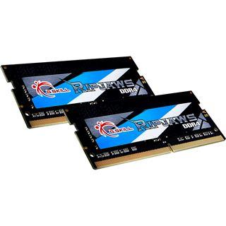 16GB G.Skill RipJaws SO-DIMM, DDR4-3200 SODIMM, CL16, Dual-Kit