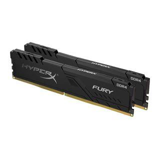 64GB HyperX FURY schwarz DDR4-3600 DIMM CL18 Dual Kit