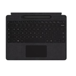 Microsoft Surface Pro X Type Cover with Slim Pen Bundle (Schwarz)