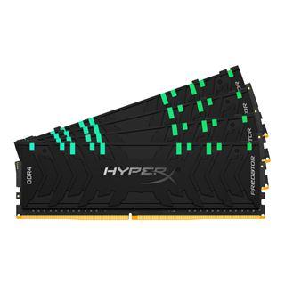 32GB HyperX Predator RGB DDR4-3600 DIMM CL17 Quad Kit