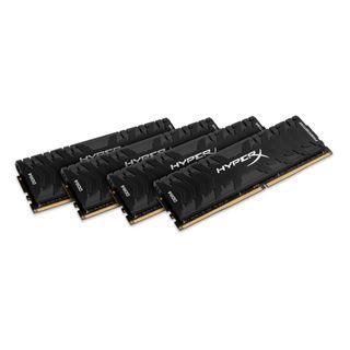 32GB HyperX Predator, DDR4-3600 DIMM, CL17, Quad-Kit (4x8GB)