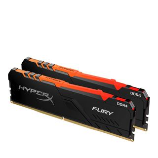32GB HyperX FURY RGB DDR4-3466 DIMM CL17 Dual Kit
