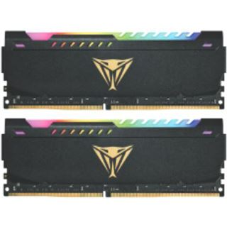 32GB Patriot Viper Steel RGB DDR4-3200 DIMM CL18 Dual Kit