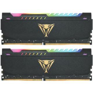 16GB Patriot Viper Steel RGB DDR4-3600 DIMM CL20 Dual Kit