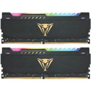 32GB Patriot Viper Steel RGB DDR4-3600 DIMM CL20 Dual Kit
