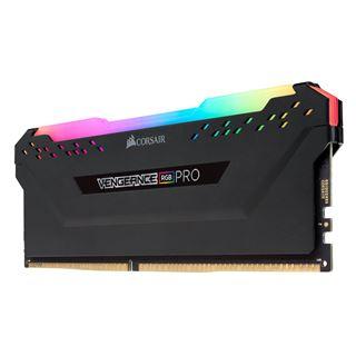 32GB (2x 16384MB) Corsair Vengeance RGB PRO schwarz, DDR4-3000 DIMM,