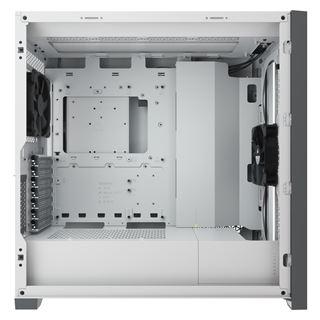 Corsair 5000D Airflow, mit Sichtfenster, ohne Netzteil, weiss