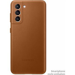 Samsung Leather Cover EF-VG991 für Galaxy S21, braun
