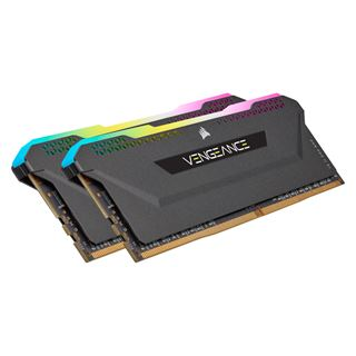 16GB Corsair Vengeance RGB PRO SL schwarz DDR4-3200 DIMM CL16 Dual Kit