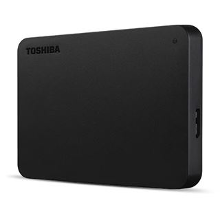 "4000GB Toshiba Canvio Basics schwarz 2,5"" with Type C Adapter"